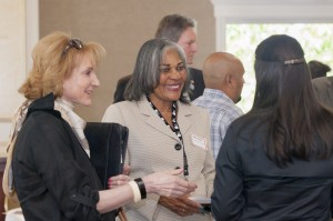 (Center) Emma Maxey, Manager Supplier Diversity, Golden State Water Company