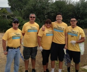 Ventura County Team Members Helping Out at Arroyo Conejo Creek on National Coastal Cleanup Day