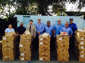 SGVWC Distributing Turkeys