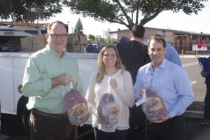 GSWC with Senator Bob Huff at Operation Gobble Event in Placentia (Orange County).