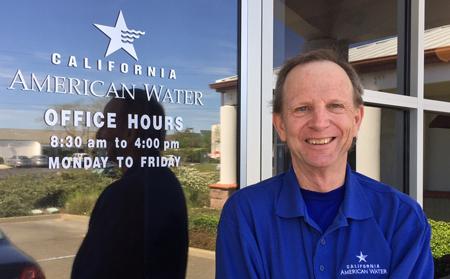 Dave Stephenson of California American Water.
