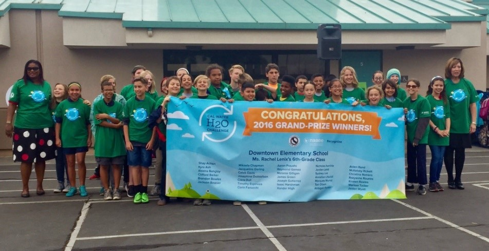 Grand-Prize Winners: Sixth-Graders at Downtown Elementary School, Bakersfield, CA