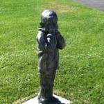 Sculpture along the Children's Sculpture Walk