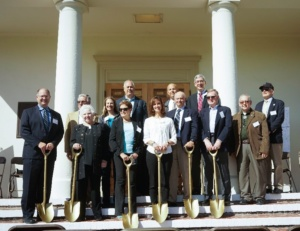 CAW Vice President of Operations Richard Svindland (left) with Monterey Peninsula Elected Officials and Agency Representatives at the Project's Groundbreaking Ceremony