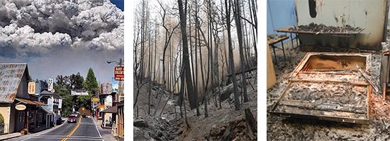 Rim Fire & Structure Damage