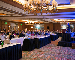 Attendees at the 75th CWA Conference